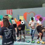 El street art de Boa Mistura en el Centro Botín