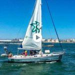 Ecologistas en Acción, en la bahía de Santander