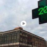 Amanecer a 20 grados por las calles de Santander