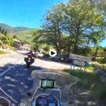 En moto por los puertos de Cantabria
