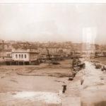 Santander cuando se estaban construyendo los muelles de la bahía