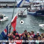 La procesión de la Virgen del Carmen del Barrio Pesquero de Santander en imágenes