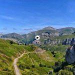 El alto del Caracol… entre San Roque de Riomiera y Selaya. La Cantabria de los valles pasiegos