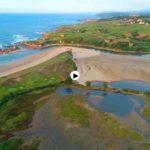 Oyambre es verde Cantabria y azul Cantábrico