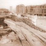 Santander cuando se estaba construyendo el hotel Bahía. Irreconocible Calderón de la Barca