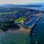 Viajando en dron por Suances