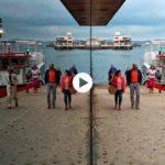 Empieza un nuevo día en la bahía de Santander