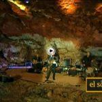 La gaita de Carlos Nuñez en la cueva del Soplao