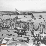 Santander cuando en la playa de la Magdalena había un pequeño embarcadero