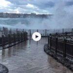 Hoy tenemos de todo… lluvia, viento, frío y temporal en la mar