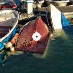 Dos botes a pique en Puertochico