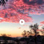 La quietud y los colores de un despertar dominical en el Sardinero