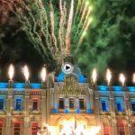 Así ha sido el encendido de las luces de Navidad de Santander
