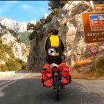 El desfiladero de la Hermida en bicicleta