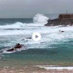 El Cantábrico empieza a crecer. El miércoles se esperan olas de 7 metros