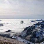 El efecto Föhn desde el pico Coriscao