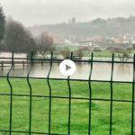 El regato de Puente Arce inunda la mies