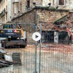 Santander cambia. Obras en los bajos de la catedral