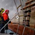 El trabajo de los prácticos del Puerto de Santander los días de temporal es sólo apto para valientes