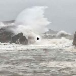 El temporal en la Virgen del Mar impresiona