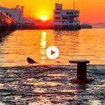 Un amanecer a pie de bahía que se queda grabado en la retina