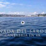 Los acantilados de la Magdalena y el Sardinero a ras de agua