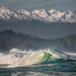 La costa de Ubiarco, los Picos de Europa y la mirada de Antonio Ruiz