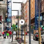 La calle Isabel II va tomando forma