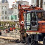 Comienzan las obras de remodelación de la plaza de Italia