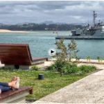 El remolcador Mahón ha venido a Santander