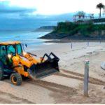 Las playas de Santander se preparan para la Semana Santa