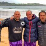 El buenos días del día de la final del fútbol playa en el Sardinero