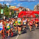 La salida de la media maratón de Santander