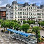 La plaza de Italia vista desde el Casino