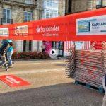 Los preparativos de la media maratón de Santander