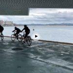 ¿Cómo andas de la vista? ¿Cuántos ciclistas cuentas en el vídeo?