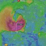 AEMET CANTABRIA nos anuncia una probable ciclogénesis explosiva en la madrugada del viernes 7 que afectaría al Cantábrico