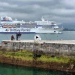 El Ferry entrando en la bahía más bonita del mundo