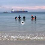 La vida en Santander: ese nadar por el Sardinero