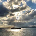 La isla de Mouro y un rayo de sol