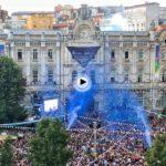 El chupinazo de la Semana Grande de Santander ¡Felices fiestas a todos!