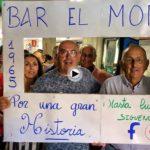 Estamos en la despedida del bar El Moro, un clásico de Castilla-Hermida