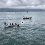 En bote por la bahía de Santander