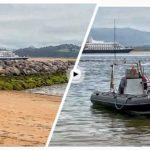Hoy nos visita el crucero de lujo Seadream
