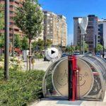 Curiosidades de Santander: un nuevo parking de bicis