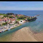 Paisajes desde el aire: San Vicente de la Barquera