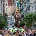 La procesión del Carmen en Lope de Vega bajo la mirada de Nacho Fraile