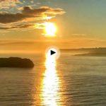 Despertar mirando a la isla de Mouro