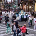 La procesión de la Virgen Grande de Torrelavega