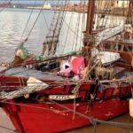 Ya tenemos el segundo barco del Festival del Mar en la bahía: el Atyla